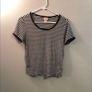Stripped shirt!